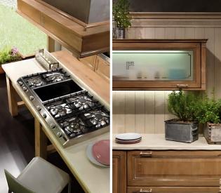 Кухонный гарнитур Bamax Fiocco di Seta Oak