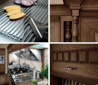 Кухонный гарнитур Bamax Sweden Rovere Tabacco