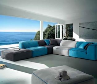 Диван Bontempi Casa Grand Bleu