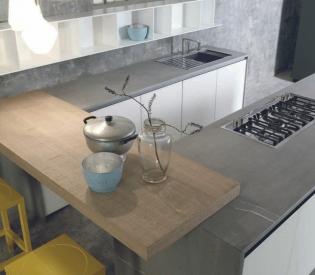 Кухонный гарнитур Key Cucine Materiali