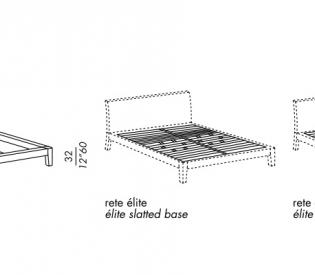 Кровать Meridiani Portman