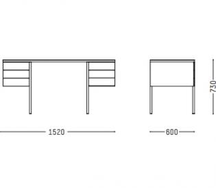 Письменный стол Porro Collector