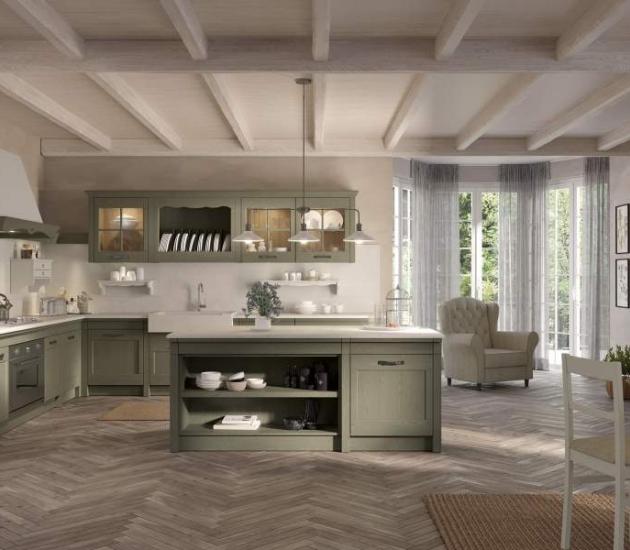 Кухонный гарнитур Arcari Positano British