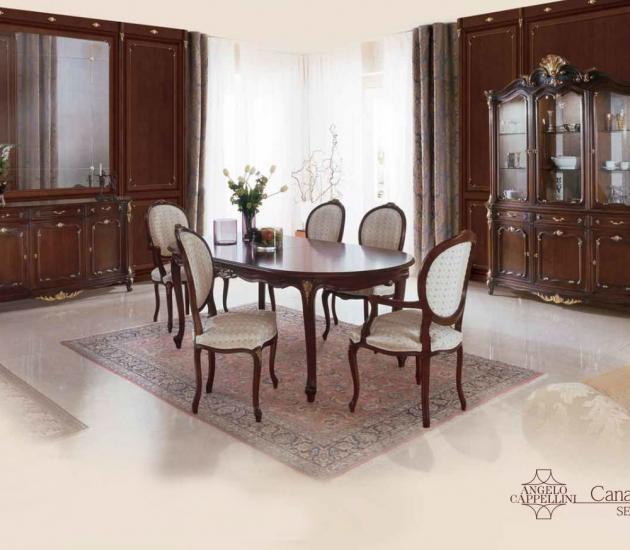 Столовый гарнитур Angello Cappellini Canaletto