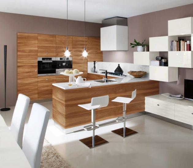 Кухонный гарнитур Bamax Diamante Noce
