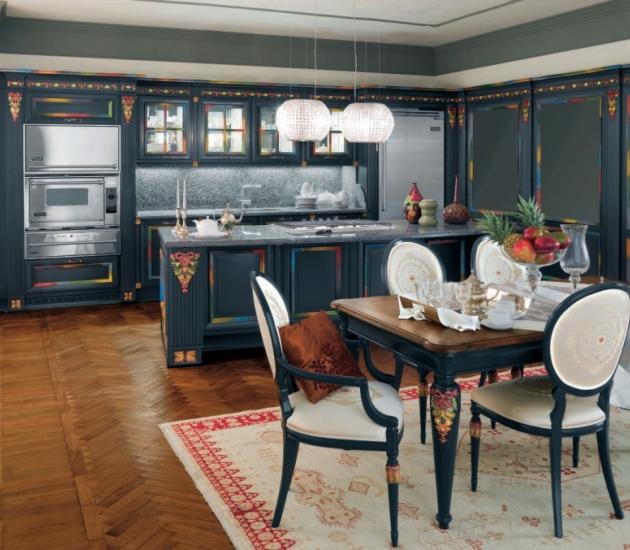 Кухонный гарнитур Bamax Hermitage Multicolor