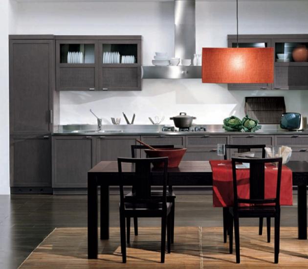 Кухонный гарнитур Bamax Shogun Rovere Grey