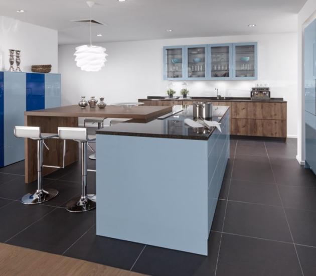 Кухонный гарнитур BEECK Küchen Colorline Lg Finess A