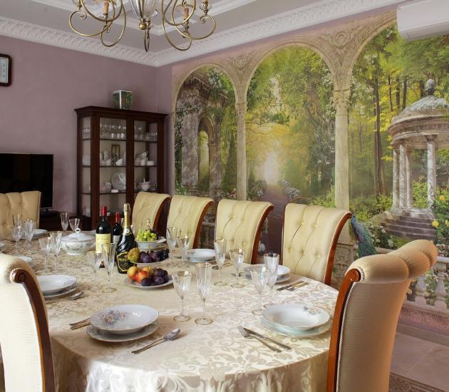Классика в интерьере частного дома