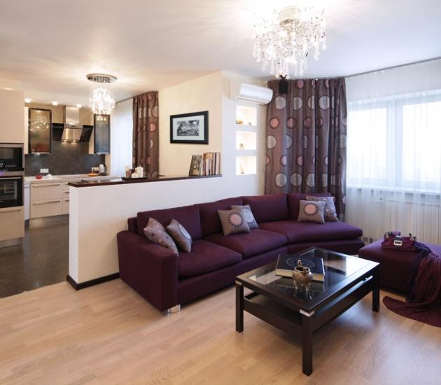 Итальянская мебель в квартире в Москве