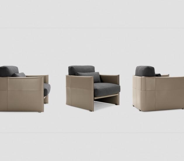 Кресло Minotti Luggage