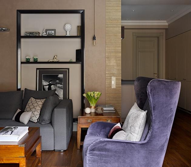 Итальянская мебель из салона Art4Living в интерьере квартиры в Москве