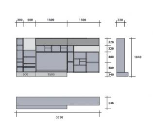 Стенка SanGiacomo Modo M4C21