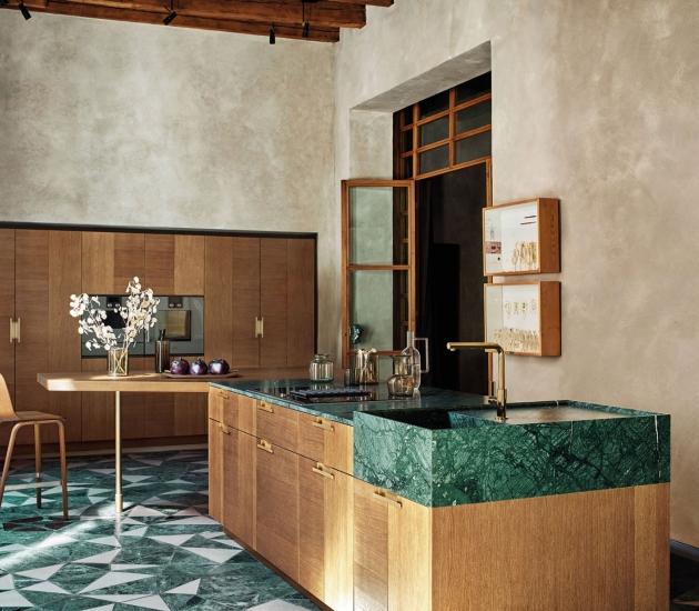 Кухонный гарнитур Cesar Intarsio Art