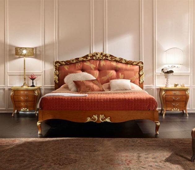Спальный гарнитур Bamax Magnolia Foglia Oro