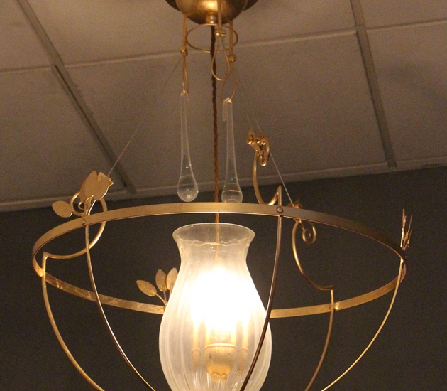 Люстра Lamp International 2102 Gold