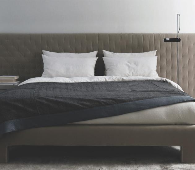 Кровать Meridiani Tuyo Quilt + Base 15 Plain