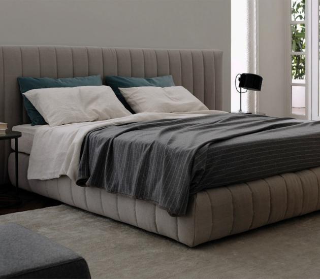 Кровать Meridiani Tuyo Stripe + Base 30 Stripe
