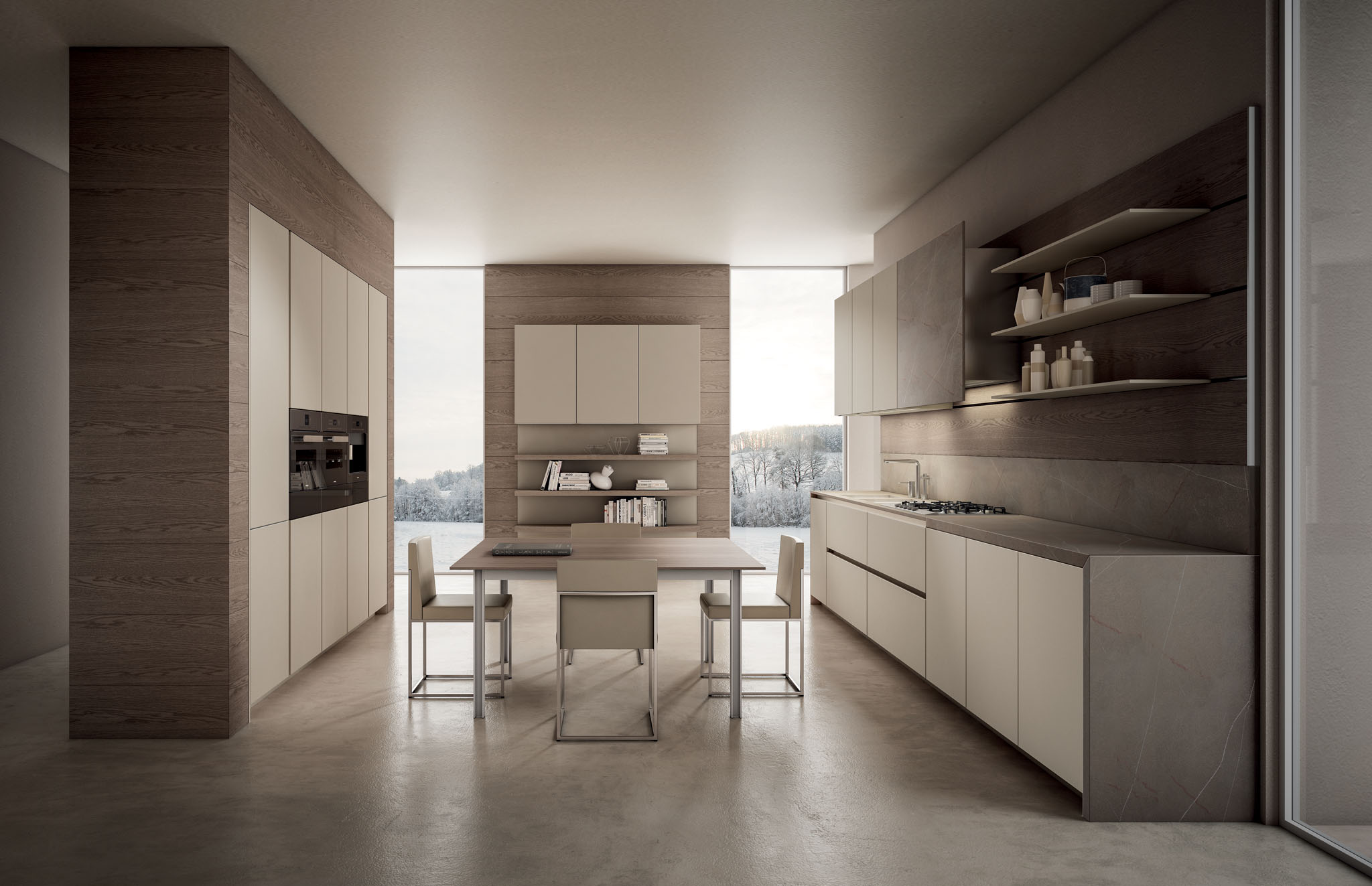Кухонный гарнитур Aster Cucine Contempora 3