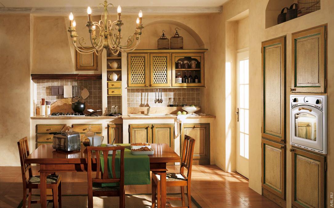 Кухонный гарнитур Bamax Fiori di Campo 01
