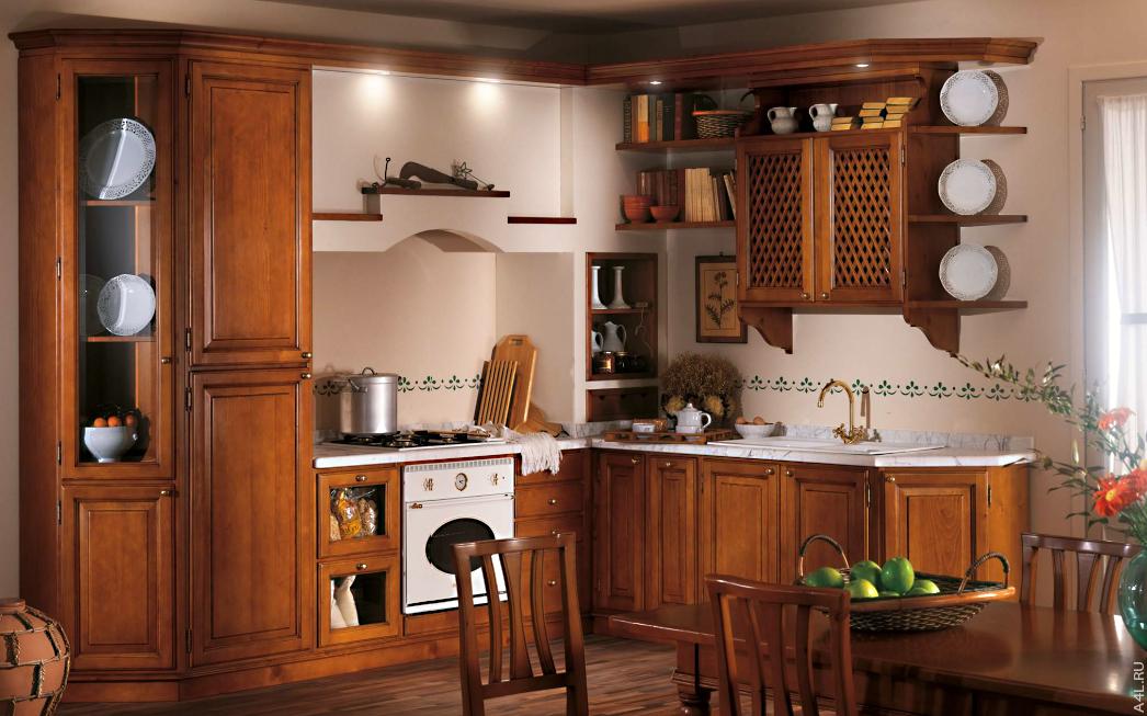 Кухонный гарнитур Bamax Fiori di Campo 06