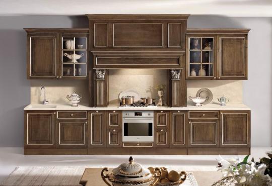 Кухонный гарнитур из массива дуба Onlywood Victoria