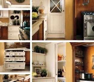 Кухонный гарнитур Bamax Canova Bicolor