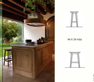 Кухонный гарнитур Bamax Fiocco di Seta Rovere