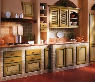 Кухонный гарнитур Bamax Fiori di Campo 02