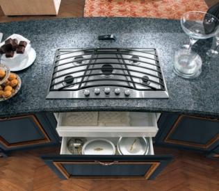 Кухонный гарнитур Bamax Hermitage Ocra