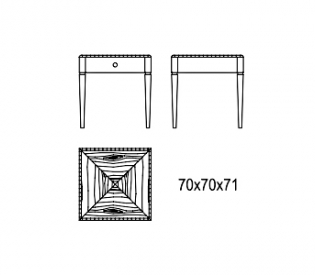Столик Bamax Museum 80.097