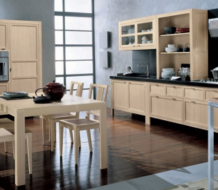 Кухонный гарнитур Bamax Shogum Rovere Bianca