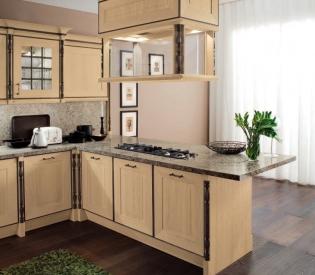 Кухонный гарнитур Bamax Sweden Rovere Champange