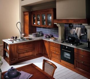 Кухонный гарнитур Bamax Fiocco di Seta Ciliegio
