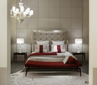 Кровать Fendi Casa Savile