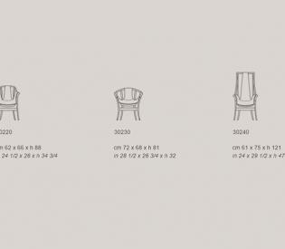 Кресло Giorgetti Progetti Pure