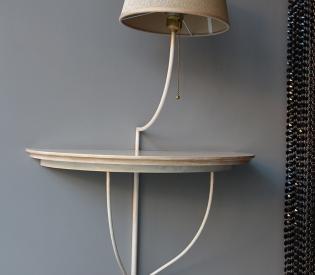 Светильник со столиком Baga