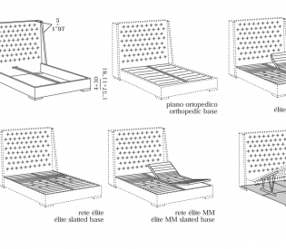 Кровать Meridiani Thurman