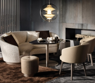 Стул Minotti Amelie Lounge