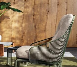 Кресло Minotti Colette Outdoor