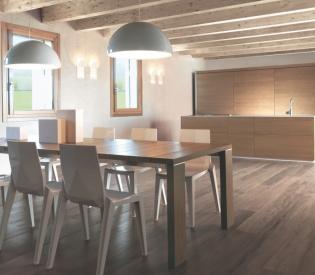 Кухонный гарнитур MK Cucine 012 Noce