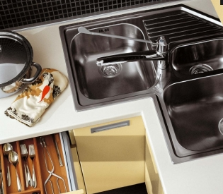 Кухонный гарнитур MK Cucine Laccato Opaco