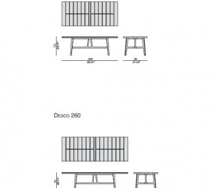 Стол Porada Desco