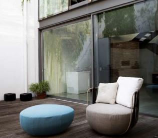 Кресло Swan Italia Miami