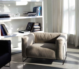 Кресло Swan Italia Tweed