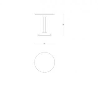Столик Tura Classic 2713