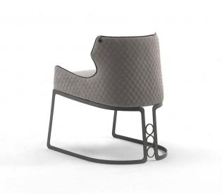 Кресло Vittoria Frigerio Piola Metal