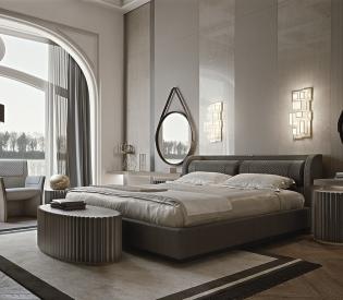 Кровать Vittoria Frigerio Bellini Low