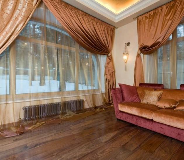 Мебель из Италии в доме на Рублевке