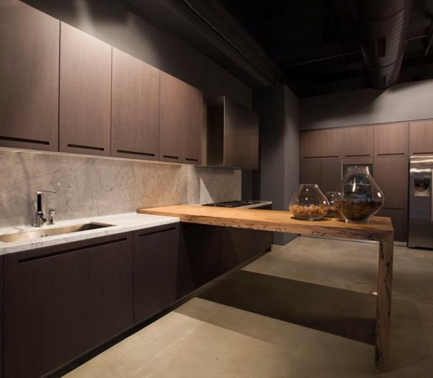 Кухонный гарнитур RiFRA ZERO Cucina in Rovere Tinto Wengè